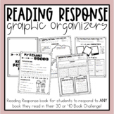 Reading Response Journal - With Graphic Organizers