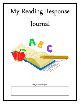 Reading Response Journal aligned with Common Core