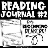 Reading Response Journal {Level 2}