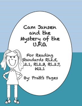 Cam Jansen and the Mystery of the U.F.O Response Journal