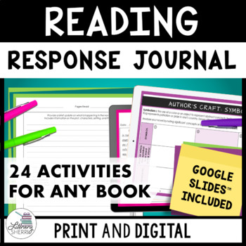 READING RESPONSE JOURNAL: Use With Any Book