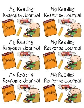 Reading Response Journal/Notebook Labels