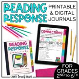 Reading Response Journals | Printable & Digital Journals |