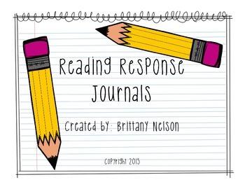 Reading Response Journals FREEBIE!