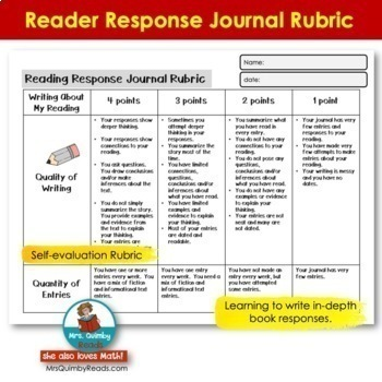 Reading Response Journals - Task Cards - [Writing Prompts]