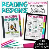 Reading Response Journals Non-Fiction