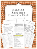 Reading Response Journals Pack