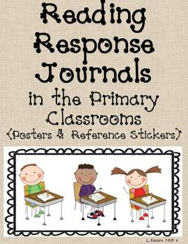 Reading Response Journals - Posters and Labels