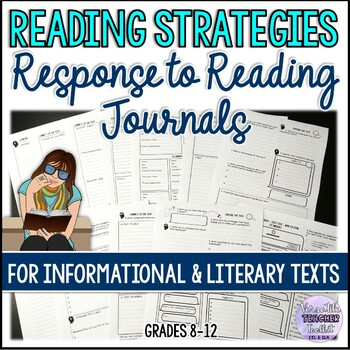 Reading Response Journals and Task Cards Bundle UPDATED