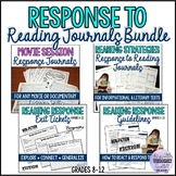 Reading Response Journals and Task Cards Bundle
