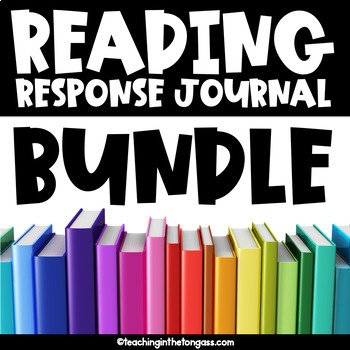 Reading Response Journals | Reading Log Bundle