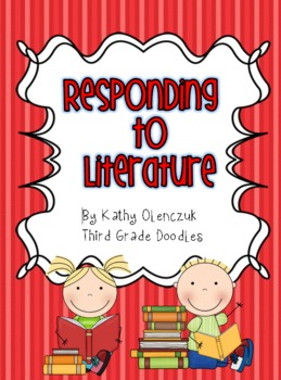 Common Core Reading - Response Pages