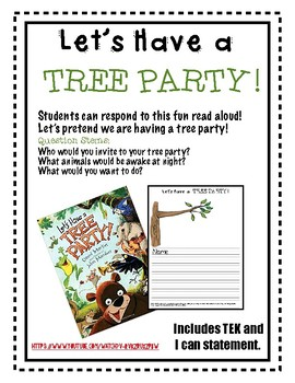 Reading Response- Let's Have a Tree Party!