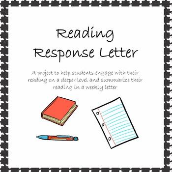 Reading Response Letter