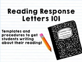 Reading Response Letters 101