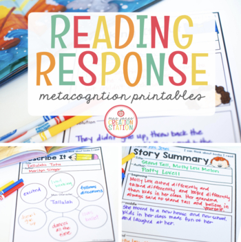 READING RESPONSE PRINTABLES FOR LITTLE READERS