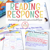 READING RESPONSE PRINTABLES FOR LITTLE READERS (DISTANCE LEARNING)