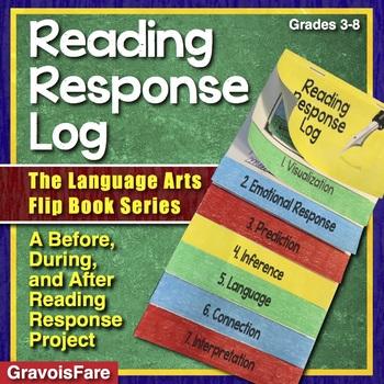 Reading Response Log — The Language Arts Flip Book Series