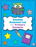 Reading Response Log for Primary Students