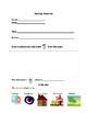 Low Level Reading Response Worksheet