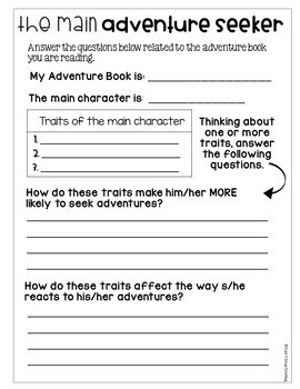3rd Grade Reading Response ~ Fiction and Nonfiction Reading 3rd Grade