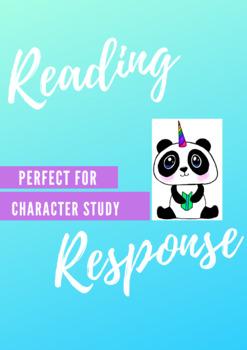 Reading Response (Main Character)