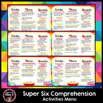 Super Six Comprehension