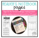 Reader's Notebook and Menus