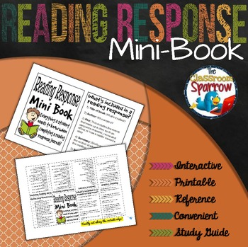 Reading Response Mini-Book (A Perfect Addition to an ELA Interactive Notebook)