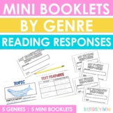 Reading Response Mini Booklets by Genre