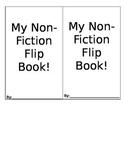 Reading Response - Non-Fiction Flip Book