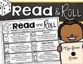 Reading Response Non Fiction Read and Roll Dice Activity