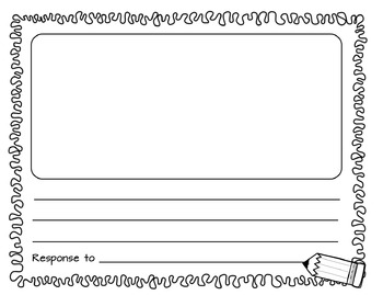 Reading Response Notebook