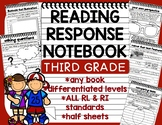 Reading Response Booklet for *ANY BOOK* Novel Study