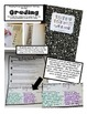 Reading Response Notebook Cover Labels and Grading Rubric