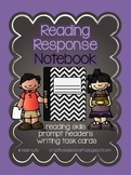 Reading Response Notebook Writing Prompts