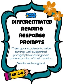 Reading Response Paragraph Prompt