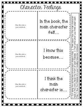 Interactive Reading Journal Notes: Grade 2-4