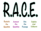 Reading Response Posters:RACE Strategy