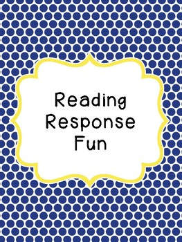 Reading Response Printables