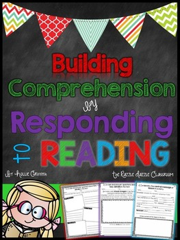Reading Response Printables {Building Comprehension by Res