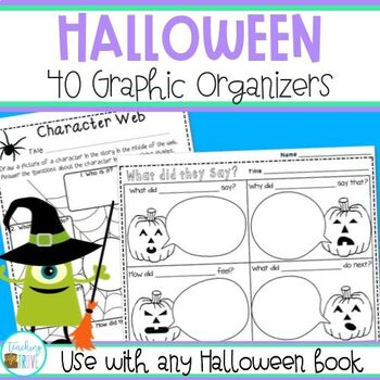 Halloween Graphic Organizers