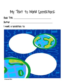 Reading Response Printables Packet: Worksheets for Interactive Reading Notebooks