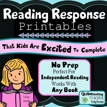 Reading Responses (That Kids Are Excited To Complete)