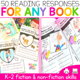 Reading Comprehension Worksheets Print & for Google (TM) |