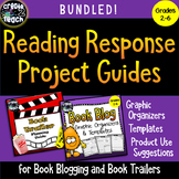 Bundled Reading Response Project Guides for Book Trailers