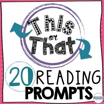 Reading Response Prompts: Students choose from 40 creative