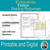Reading Response Prompts