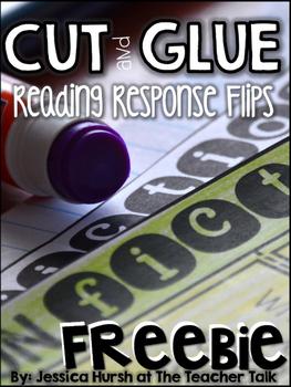 Reading Response Prompts - Cut, Glue & Flip!