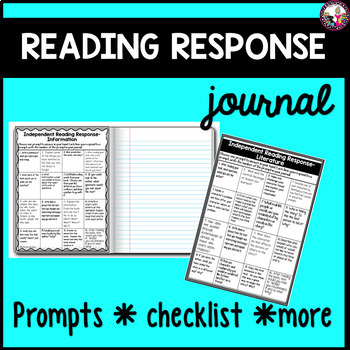 Reading Response Prompts and MORE!